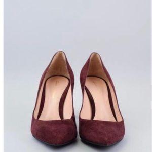 Gianvito rossi maroon / red heels - 39.5